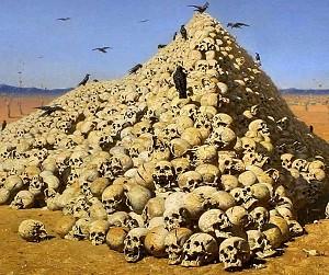 Ужас и смерть - Апофеоз войны В.В. Верищагина - сайт Солипсизм.Ру